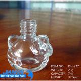Bottiglia di vetro del polacco di chiodo di figura del fiore della prugna