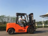 Montacargas 4 톤 디젤 포크리프트