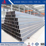 Tubo del quadrato del acciaio al carbonio per il materiale da costruzione del metallo