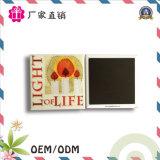 Magnete su ordinazione del frigorifero del ricordo del programma del paese del metallo
