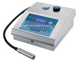 Принтер Inkjet машины кодирвоания непрерывный для упаковывать пакетика чая (EC-JET500)