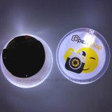 Значки логоса изготовленный на заказ СИД круглой формы для подарков промотирования (3569)