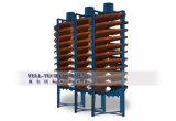 De volledige Spiraalvormige Helling van de Apparatuur van de Verwerking van het Erts van het Tin