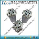 utensile a inserti della piattaforma di produzione della roccia del carburo di tungsteno R32 di 51mm