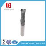 Diâmetro 1-25mm moinho de extremidade do carboneto de 2 flautas para o aço de carbono