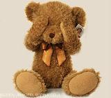 Hot Sale de couleur marron jouet en peluche