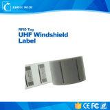 De goedkope Prijs Aangepaste UHFMarkering van het Windscherm RFID voor het Beheer van het Parkeren