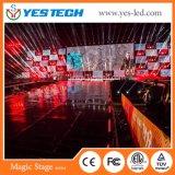 Concerto di colore completo, parete del video della priorità bassa LED di esposizione in tensione