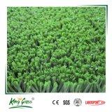 Erba artificiale densa sintetica della corte di tennis dell'erba alta 15mm