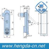 내각 전기 편평한 자물쇠를 위한 Yh9564 아연 합금 비행기 자물쇠