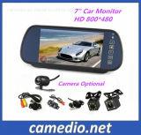 Système de stationnement Rétroviseur LCD 7+ La vision de nuit caméra de rétroviseur