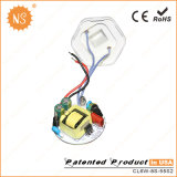 ampoules économiseuses d'énergie de réverbère du prix usine 6W DEL