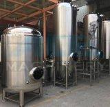 Depósito de fermentación de la cerveza del acero inoxidable con las pistas y la vávula de bola elípticas (ACE-FJG-MD)