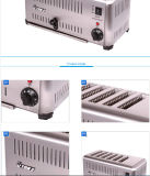 6slicersのセリウムApproved Hot Sales Commerical Toaster