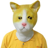 Halloweenの乳液によってカスタマイズされる完全なヘッド動物マスク