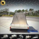 8X5 Hoogste Aanhangwagen van de Kleinhandelaar van het nut de Zij Open (swt-TTT85)