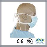 Masque protecteur de papier chirurgical médical approuvé de la CE pour l'hôpital (MN-8016)