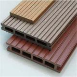 Plancher composé en plastique en bois de Decking extérieur de WPC
