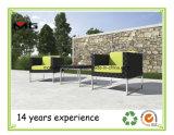 Freizeit-Garten-Möbel-Vertrags-Stühle mit den Metallbeinen