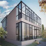 Gelamineerd Glas Geprefabriceerd Aluminium Sunroom voor Balkon