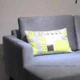 Tecido cinza sofá de canto para Mobiliário doméstico