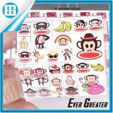 주문 큰 입 원숭이 각종 인쇄 PVC 스티커