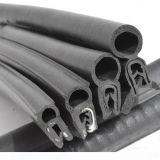 La burbuja de la parte superior de caucho EPDM de color negro/Perfil de extrusión para equipos eléctricos