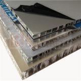 El panel de aluminio del panal del color cremoso para la aviación