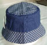 Nueva moda niños bordados Denim Tapa de la pesca Hat