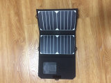 Resistente al agua 15W de potencia solar cargador solar para el Banco de potencia