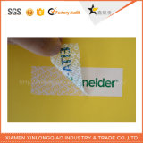 Adhésif Anti-Fake Paper Label Printing Tamper Evident Void Security Sticker