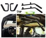 Toebehoren van de Auto van de Staaf van de Greep van het Staal van het Handvat van het Metaal van Wrangler Jk van de jeep de Zwarte Stevige voor Jeep