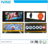 Visualización video LED de la tapa al aire libre del taxi de Nse P3