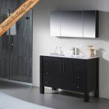 Цельной древесины в европейском стиле современной ванной комнаты кабинета в левом противосолнечном козырьке