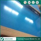 Vert/Bleu/Couleur personnalisée réutilisés PVC /PP contreplaqué recouvert de plastique