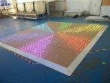 Tuile de danse visuelle de l'événement DEL Dance Floor 60X60cm d'étape