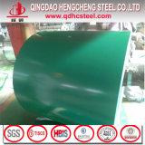 A cor de aço da bobina de PPGI revestiu a bobina de aço com a alta qualidade