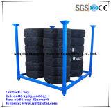 Stapeln des Reifen-Rackings mit Maschendraht für heller LKW-Gummireifen