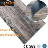 Плитка винила PVC старой древесины роскошная, Lvt