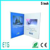 5inch LCD Bildschirm-videobroschüre für Geschenke