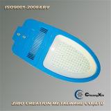 La cubierta de la luz de calle del OEM LED de aluminio a presión el shell ligero de la fundición LED