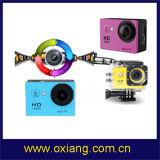 Venta caliente cámara impermeable llena de 2 de la pulgada de WiFi del deporte deportes de la cámara 1080P HD los 30m