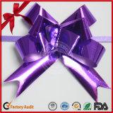 La insignia de encargo decorativa al por mayor imprimió el arqueamiento del tirón de Ribbon