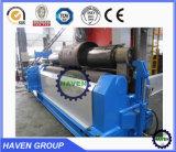 máquina de dobra mecânica W11-8X2500 da placa de três rolos