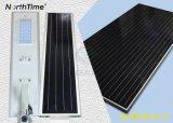 einteiliges 30W/integrierte 5 Jahre Solarstraßenlaterne-der Garantie-LED