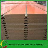 Toon de Plank Gebruikte Melamine van 1220*2440*15mm Ingelaste MDF onder ogen zag