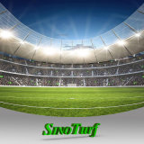 Erba sintetica del tappeto erboso per calcio, gioco del calcio, hokey, rugby