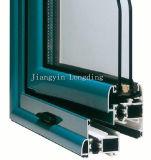 Extrusões de alumínio do frame de Windows e de portas