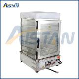 vapeur chinois en verre électrique de pain de Commerical de commande numérique du paquet 600s 6