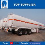 ISO del titán acoplado del tanque de almacenaje de combustible del semi-remolque del carro de petrolero del combustible del petróleo crudo del petrolero de la capacidad de 10000 galones